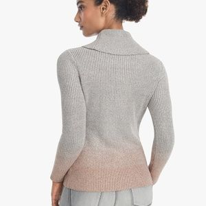 WHBM - COWL NECK OMBRE SWEATER